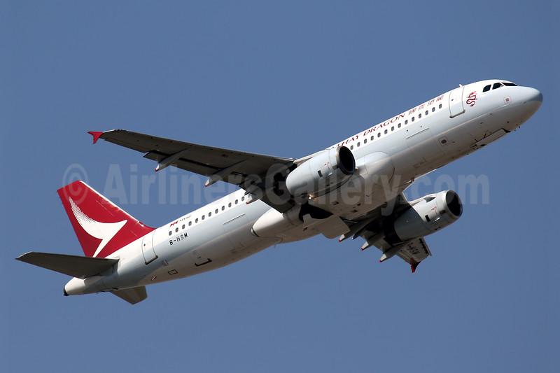 Cathay Dragon Airbus A320-232 B-HSM (msn 2238) HKG (Javier Rodriguez). Image: 940505.