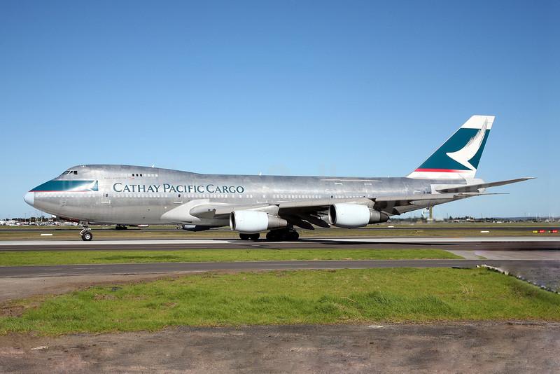 Cathay Pacific Airways Cargo Boeing 747-2L5B (SF) B-HMD (msn 22105) SYD (John Adlard). Image: 903128.