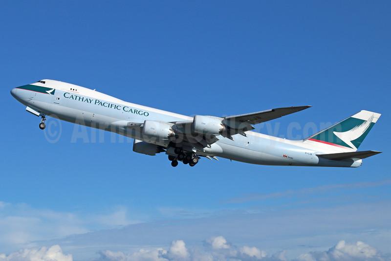 Cathay Pacific Airways Cargo Boeing 747-867F B-LJB (msn 39239) ANC (Michael B. Ing). Image: 920277.