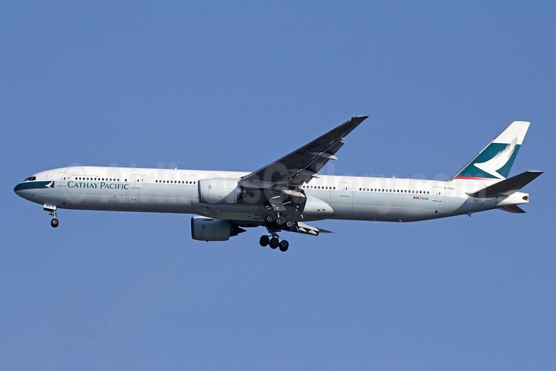 Cathay Pacific Airways Boeing 777-367 B-HNG (msn 27505) BKK (Michael B. Ing). Image: 911292.