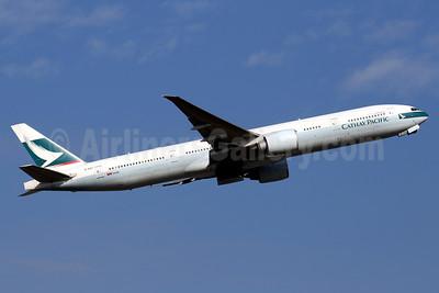 Cathay Pacific Airways Boeing 777-367 ER B-KQC (msn 39236) HKG (Javier Rodriguez). Image: 938230.