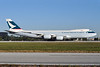 Cathay Pacific Airways Cargo Boeing 747-867F B-LJJ (msn 39246) MIA (Tony Storck). Image: 910645.