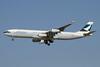 Cathay Pacific Airways Airbus A340-313 B-HXC (msn 142) DXB (Paul Denton). Image: 911303.