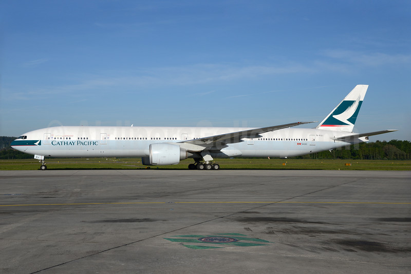 Cathay Pacific Airways Boeing 777-367 ER B-KQJ (msn 41760) ZRH (Rolf Wallner). Image: 933085.