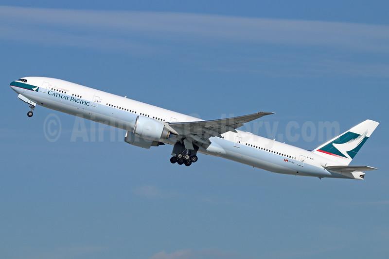 Cathay Pacific Airways Boeing 777-367 ER B-KQI (msn 41429) LAX (Michael B. Ing). Image: 922279.