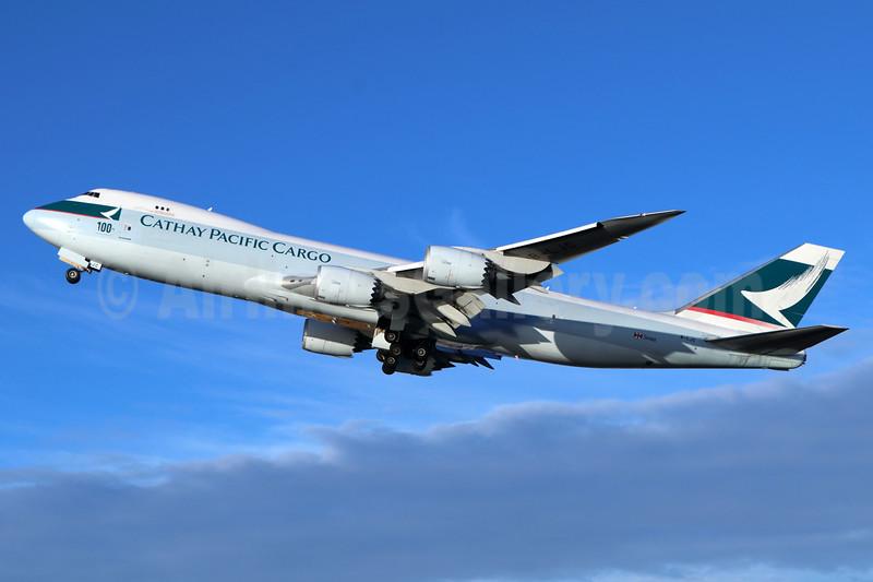 """100th Boeing Aircraft"" logo"