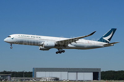 Cathay Pacific Airways Airbus A350-941 F-WZGW (B-LRR) (msn 119) TLS (Paul Bannwarth). Image: 938907.