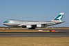 Cathay Pacific Airways Cargo Boeing 747-467F B-HUH (msn 27175) SYD (John Adlard). Image: 903131.
