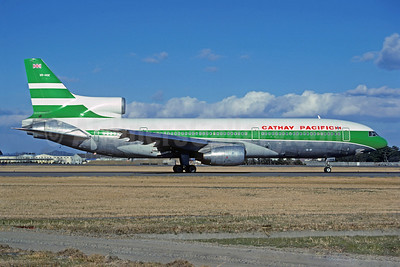 Cathay Pacific Airways Lockheed L-1011-385-1 TriStar 1 VR-HOE (msn 1021) NGO (Jacques Guillem Collection). Image: 920931.