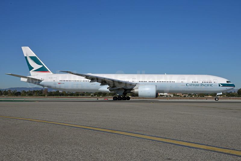 Cathay Pacific Airways Boeing 777-367 ER B-KPI (msn 36833) LAX (Roy Lock). Image: 911294.