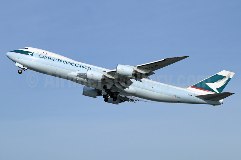Cathay Pacific Airways Cargo Boeing 747-867F B-LJM (msn 43825) ANC (Michael B. Ing). Image: 922885.