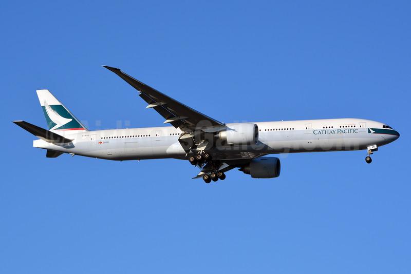 Cathay Pacific Airways Boeing 777-367 ER B-KQK (msn 41430) JFK (Jay Selman). Image: 402428.