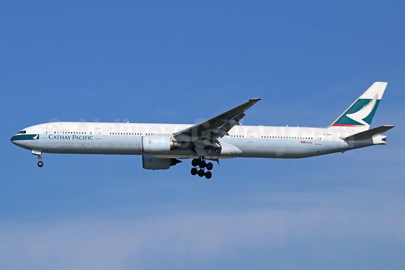 Cathay Pacific Airways Boeing 777-367 B-HNH (msn 27504) NRT (Michael B. Ing). Image: 926510.