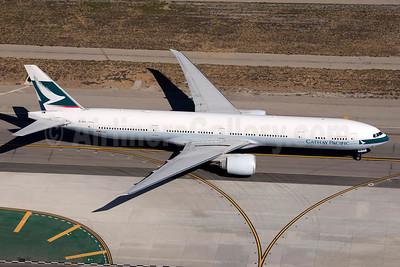 Cathay Pacific Airways Boeing 777-367 ER B-KPX (msn 37897) LAX (Wingnut). Image: 924124.