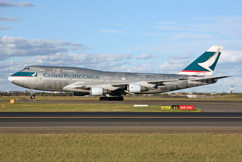 Cathay Pacific Airways Cargo Boeing 747-412 (F) B-HKS (msn 27070) SYD (John Adlard). Image: 903130.
