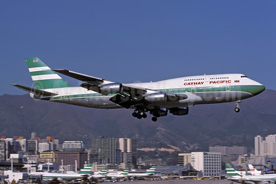 Landing at the Kai Tak base - Delivered on October 10, 1986