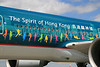"Close-up of ""The Spirit of Hong Kong"" logo"
