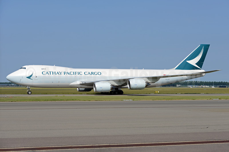 Cathay Pacific Airways Cargo Boeing 747-867F B-LJN (msn 62823) AMS (Ton Jochems). Image: 938039.