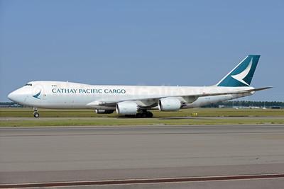 Cathay Pacific Airways Cargo Boeing 747-867F B-LJN (msn 62823) AMS (Ton Jochems). Image: 938039.