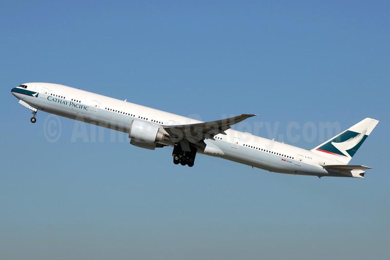 Cathay Pacific Airways Boeing 777-367 ER B-KPS (msn 39232) LAX (Stephen Tornblom). Image: 922609.