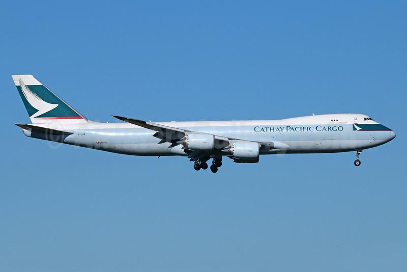 Cathay Pacific Airways Cargo Boeing 747-867F B-LJB (msn 39239) ANC (Michael B. Ing). Image: 922884.