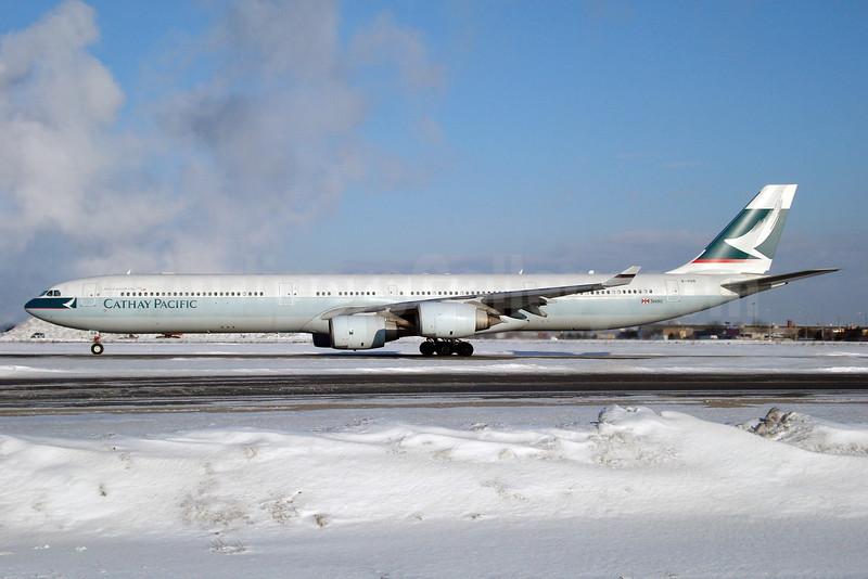 Cathay Pacific Airways Airbus A340-642 B-HQB (msn 453) YYZ (TMK Photography). Image: 900632.