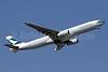 Cathay Pacific Airways Airbus A330-343 B-LBG (msn 1557) HKG (Javier Rodriguez). Image: 940503.