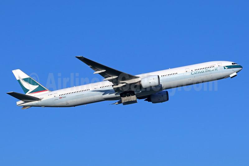 Cathay Pacific Airways Boeing 777-367 B-HNP (msn 34243) NRT (Michael B. Ing). Image: 935605.