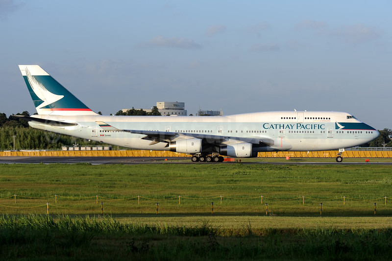 Cathay Pacific Airways Boeing 747-467 B-HOP (msn 23815) NRT (Akira Uekawa). Image: 935095.