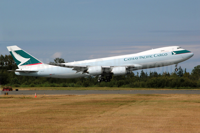 Cathay Pacific Airways Cargo Boeing 747-867F B-LJI (msn 39247) PAE (Nick Dean). Image: 909171.
