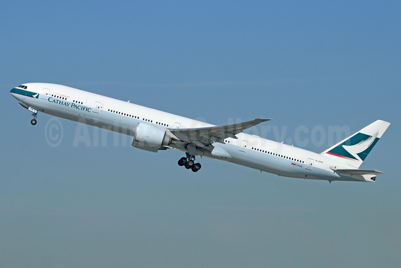 Cathay Pacific Airways Boeing 777-367 ER B-KPR (msn 36163) LAX (Michael B. Ing). Image: 921442.
