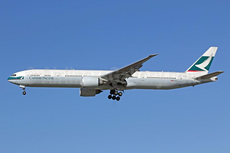 Cathay Pacific Airways Boeing 777-367 ER B-KPJ (msn 36157) LAX (Michael B. Ing). Image: 908300.