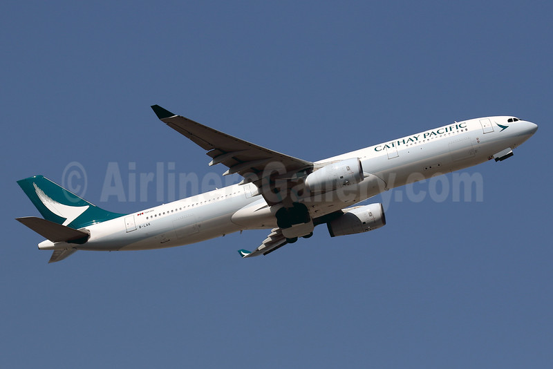 Cathay Pacific Airways Airbus A330-343 B-LAK (msn 1196) HKG (Javier Rodriguez). Image: 936165.