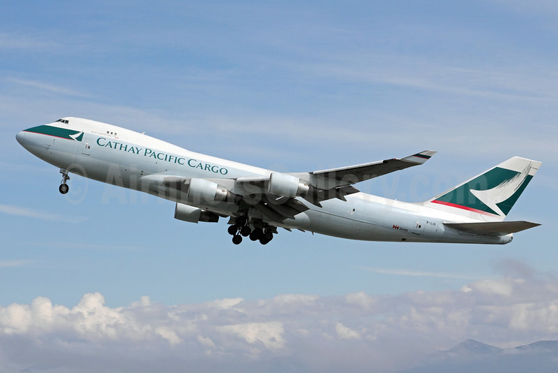 Cathay Pacific Airways Cargo Boeing 747-467F B-LID (msn 36869) ANC (Michael B. Ing). Image: 903524.