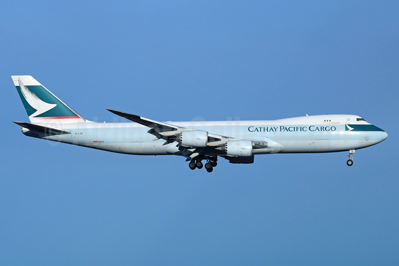 Cathay Pacific Airways Cargo Boeing 747-867F B-LJE (msn 39242) ANC (Michael B. Ing). Image: 926515.
