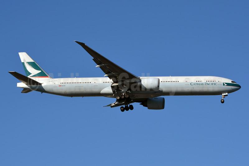 Cathay Pacific Airways Boeing 777-367 ER B-KPI (msn 36833) JFK (Jay Selman). Image: 402427.