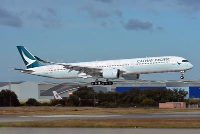 Cathay Pacific Airways Airbus A350-1041 F-WZNL (B-LXE) (msn 225) TLS (Paul Bannwarth). Image: 944211.