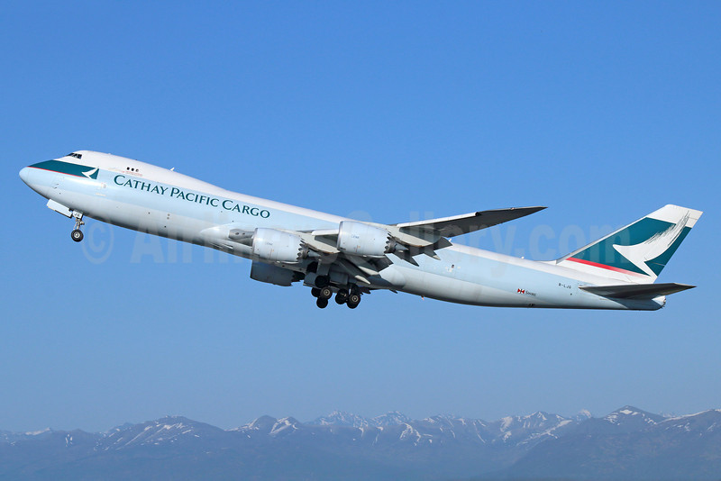 Cathay Pacific Airways Cargo Boeing 747-867F B-LJB (msn 39239) ANC (Michael B. Ing). Image:  922947.