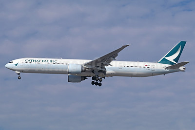 Cathay Pacific Airways Boeing 777-367 ER B-KPX (msn 37897) LAX (Michael B. Ing). Image: 939932.