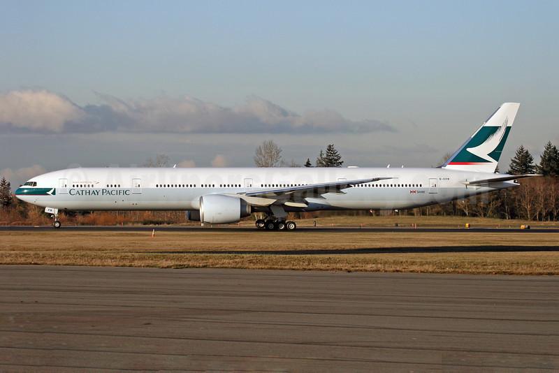 Cathay Pacific Airways Boeing 777-367 ER B-KPM (msn 36159) PAE (Nick Dean). Image: 904290.