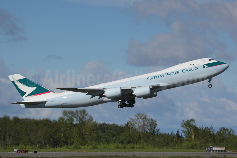 Cathay Pacific Airways Cargo Boeing 747-867F B-LJD (msn 39241) PAE (Nick Dean). Image: 911984.