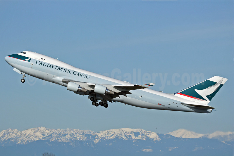 Cathay Pacific Airways Cargo Boeing 747-467 ERF B-LIF (msn 36871) PAE (Nick Dean). Image: 902718.