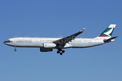 Cathay Pacific Airways Airbus A330-343 B-HLV (msn 548) NRT (Michael B. Ing). Image: 909096.