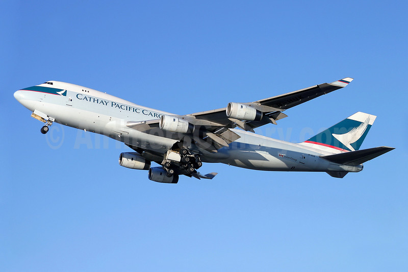 Cathay Pacific Airways Cargo Boeing 747-467F B-HUK (msn 27053) ANC (Keith Burton). Image: 901410.