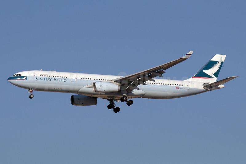 Cathay Pacific Airways Airbus A330-343 B-LAN (msn 1285) DXB (Paul Denton). Image: 911301.