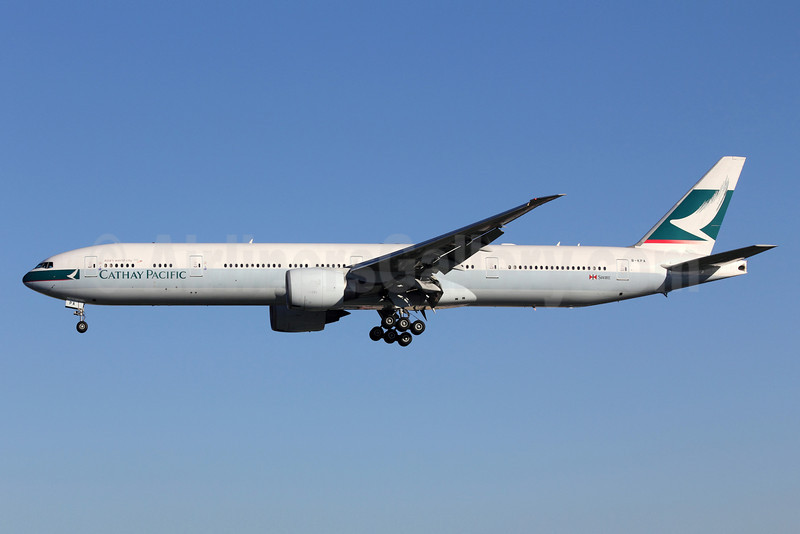 Cathay Pacific Airways Boeing 777-367 ER B-KPA (msn 36154) LAX (Michael B. Ing). Image: 908299.