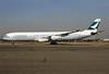 Cathay Pacific Airways Airbus A340-313 B-HXJ (msn 227) LHR (Antony J. Best). Image: 902039.