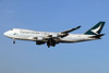 Cathay Pacific Airways Cargo Boeing 747-467 ERF B-LIB (msn 36867) LHR (SPA). Image: 935633.