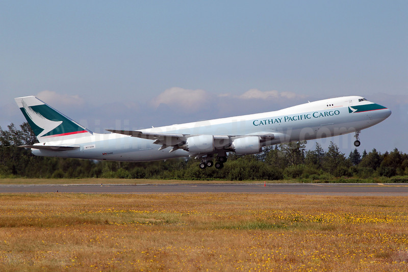 Cathay Pacific Airways Cargo Boeing 747-867F N1785B (B-LJE) (msn 39242) PAE (Nick Dean). Image: 907034.