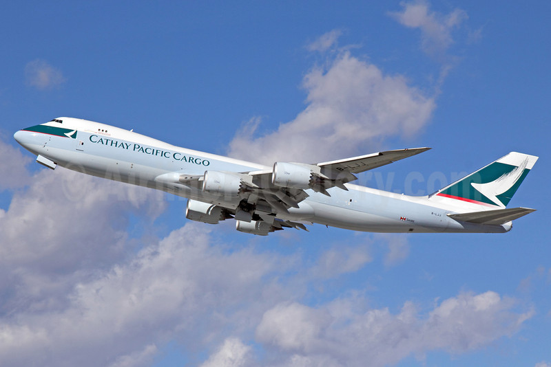 Cathay Pacific Airways Cargo Boeing 747-867F B-LJJ (msn 39246) LAX (Michael B. Ing). Image: 911304.